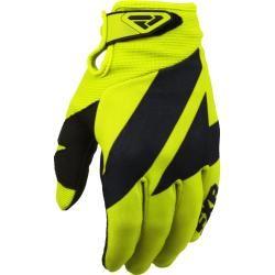 Photo of Fxr Clutch Strap Motocross Handschuhe Schwarz Gelb L