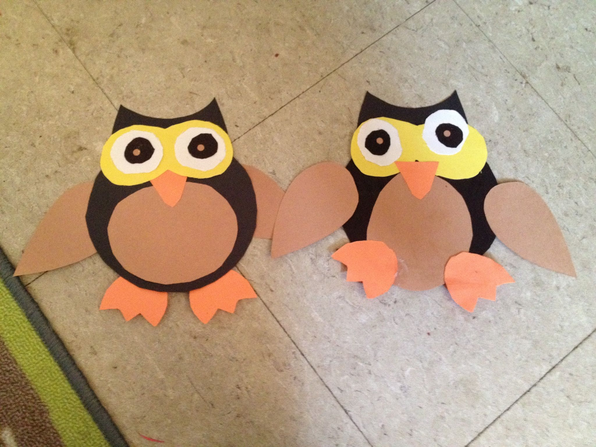 Preschool Owl Craft With Images