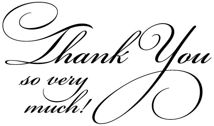 Penny Black Rubber Stamp 1 75 X2 5 Flourish Thank You Thank You Images Thank You Quotes Thank You Messages
