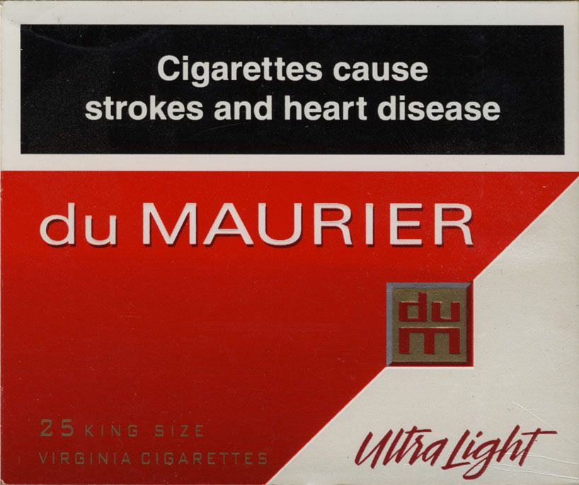 du maurier cigarettes prices in ontario