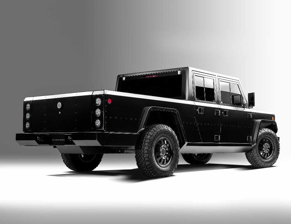 Bollinger B2 In 2020 Trucks Electric Utility Motor