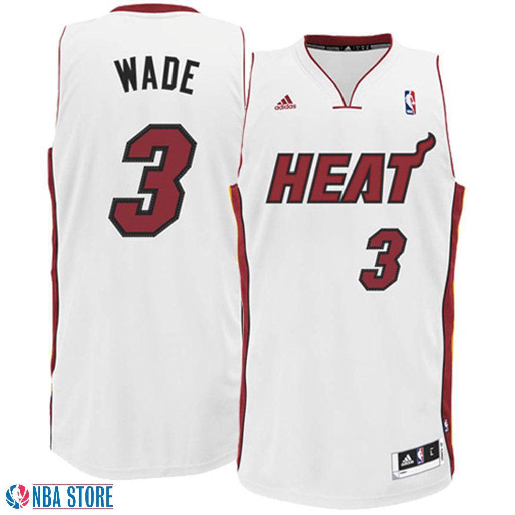 Dwyane #Wade Jersey - Miami #Heat Revolution 30 White Swingman #Jersey. http