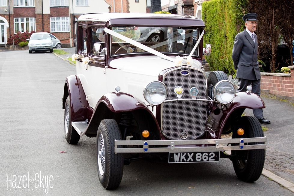 Travel in style on your wedding day we love the vintage cars our ...