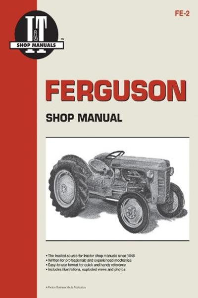 Ferguson Shop Manual Models Te20 To20 To30 I T Shop Service By Penton Staff Haynes Manuals N America Inc Ferguson Manual Books