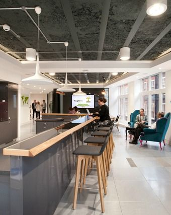 Award winning office design for thoughtworks workplace design commercial interiors and office designs