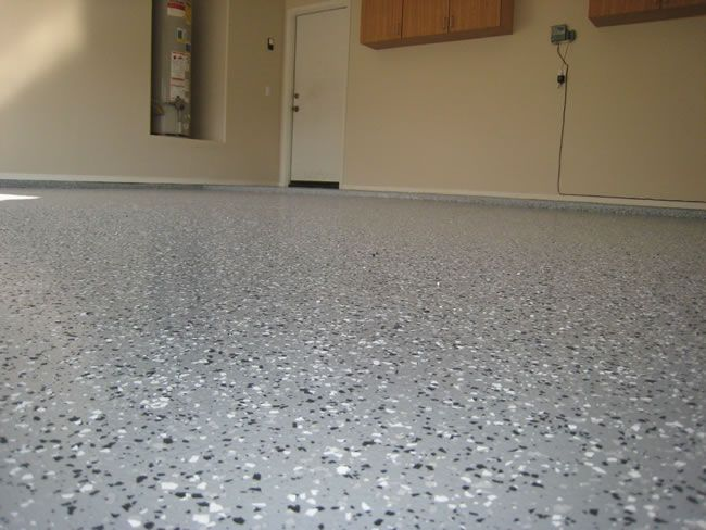 how to clean garage floor after plastering