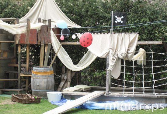 Piratenparty ideen party piraten party piraten und geburtstag - Piraten deko basteln ...