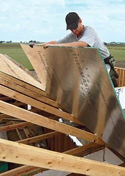 Radiant Barrier Plywood #roofing #gogreen