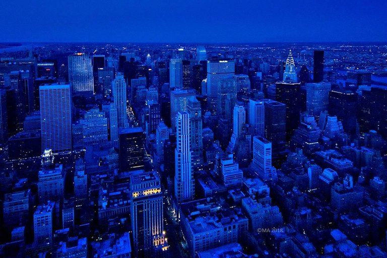 Check out this fantastic collection of blue city wallpapers, with 51 blue city background images for your desktop, phone or tablet. Alejandro Cerutti - Rhapsody in Blue, New York City, New ...