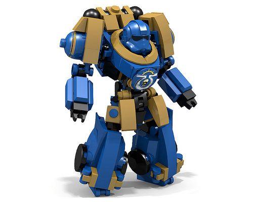 Ultramarine Battle Brother Power Armor