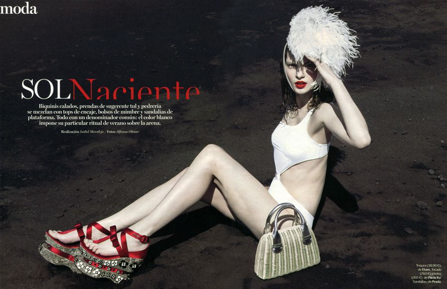 Magda Nowicka in Yo Dona Magazine