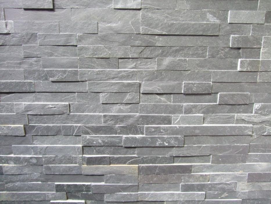 brique de parement gris clair m