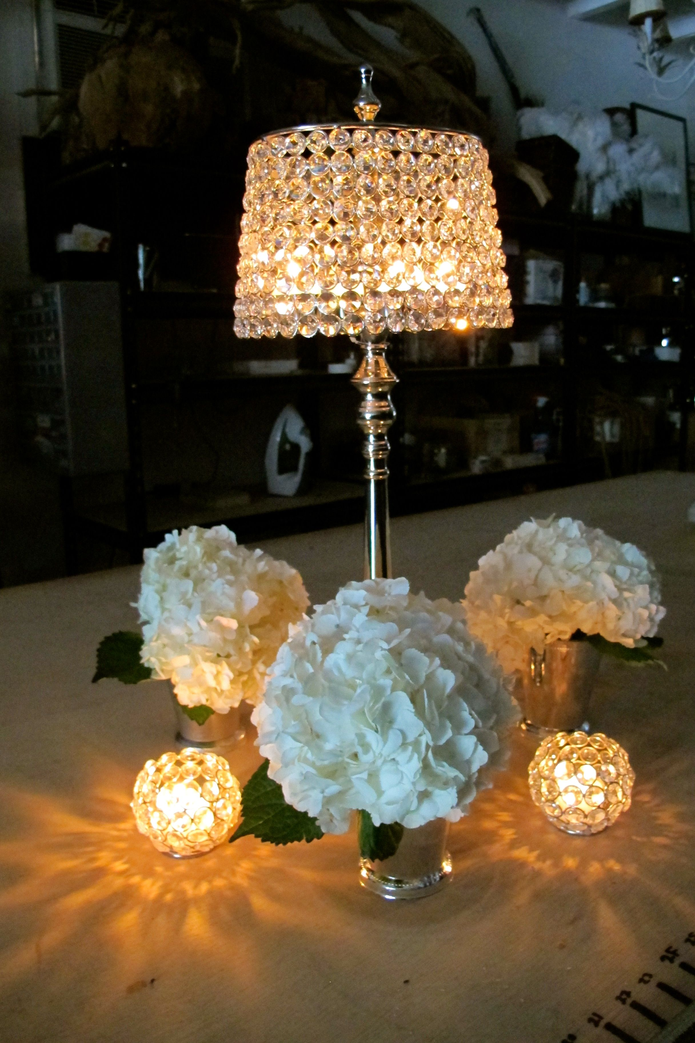 Bling Out Your Centerpiece With This Bejeweled Candle Holder