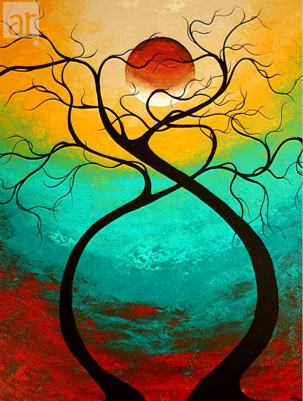 Cuadros modernos abstractos batik pinterest dibujos for Fotos cuadros abstractos