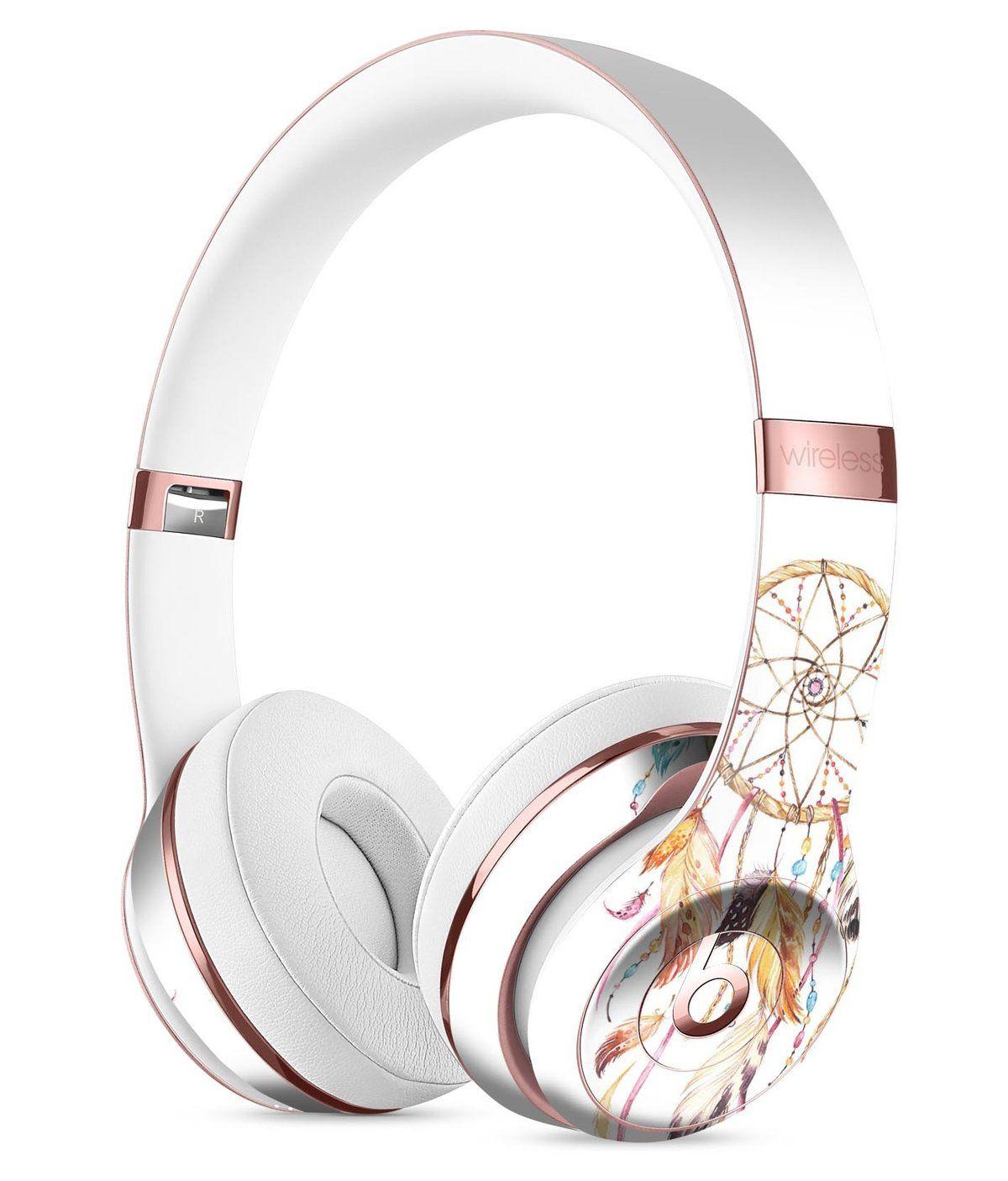 Watercolor Dreamcatchers V8 Full Body Skin Kit For The Beats By Dre Solo 3 Wireless Headphones Wireless Headphones Cute Headphones Headphones