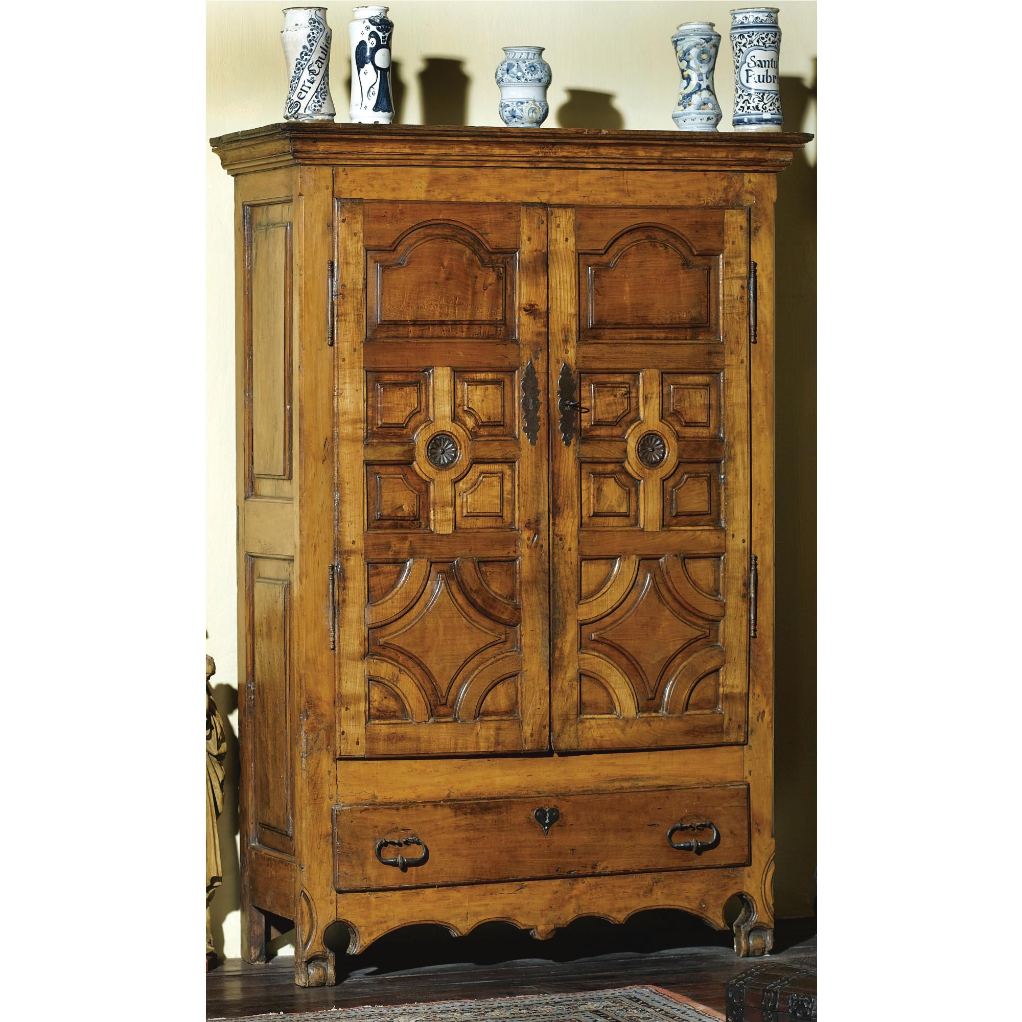 A Spanish cherrywood cupboard<br>18th century   lot   Sotheby's