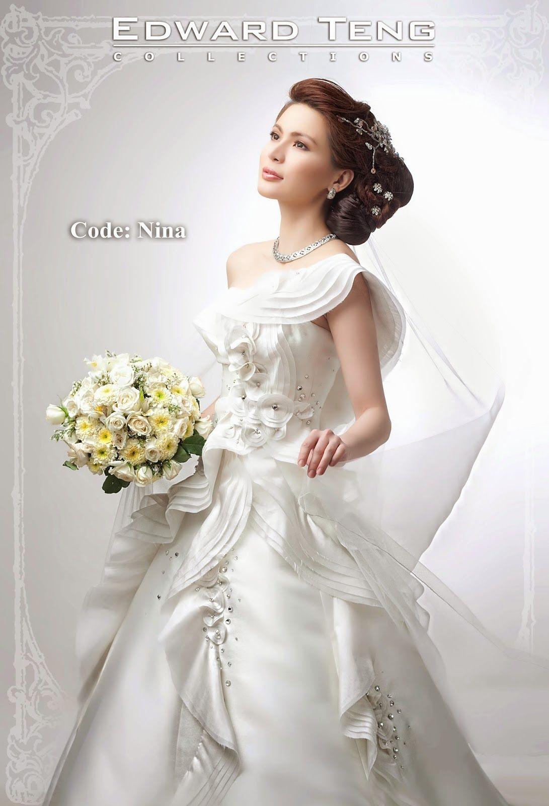 Philippines Bridal Gown Designer (Edward Teng) Designer