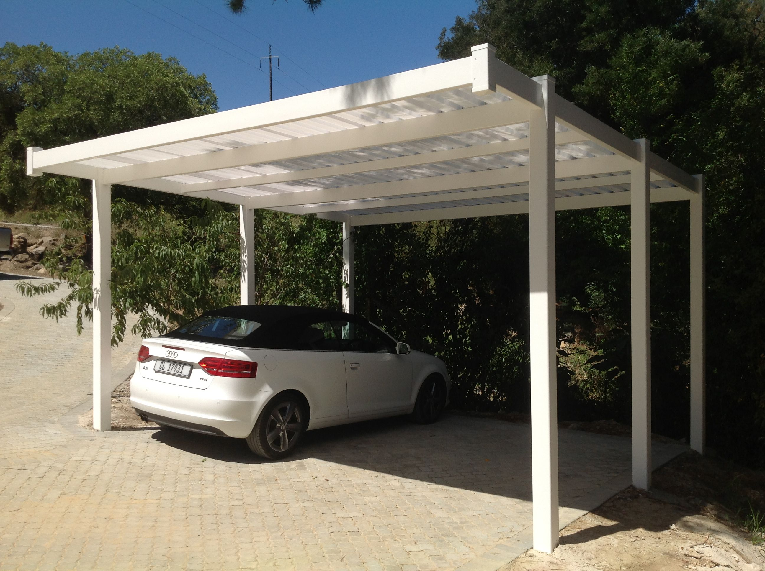 pvc carport absolut pvc fencing systems pinterest berdachungen. Black Bedroom Furniture Sets. Home Design Ideas