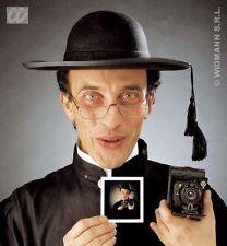 FANCY DRESS VICARS//NUNS PRIEST HAT FELT W//RIM
