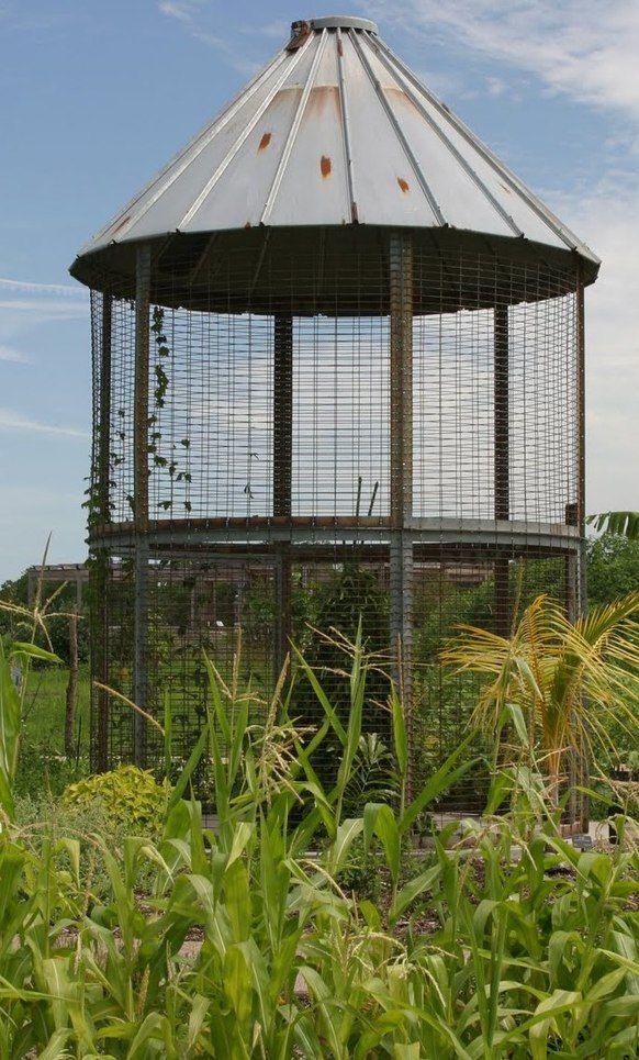 Corn Crib | Corn crib, Outdoor structures, Outdoor