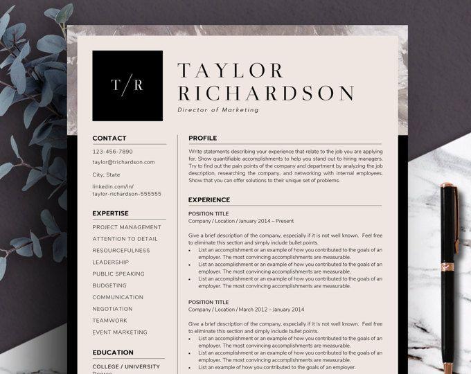 modern resume templates word