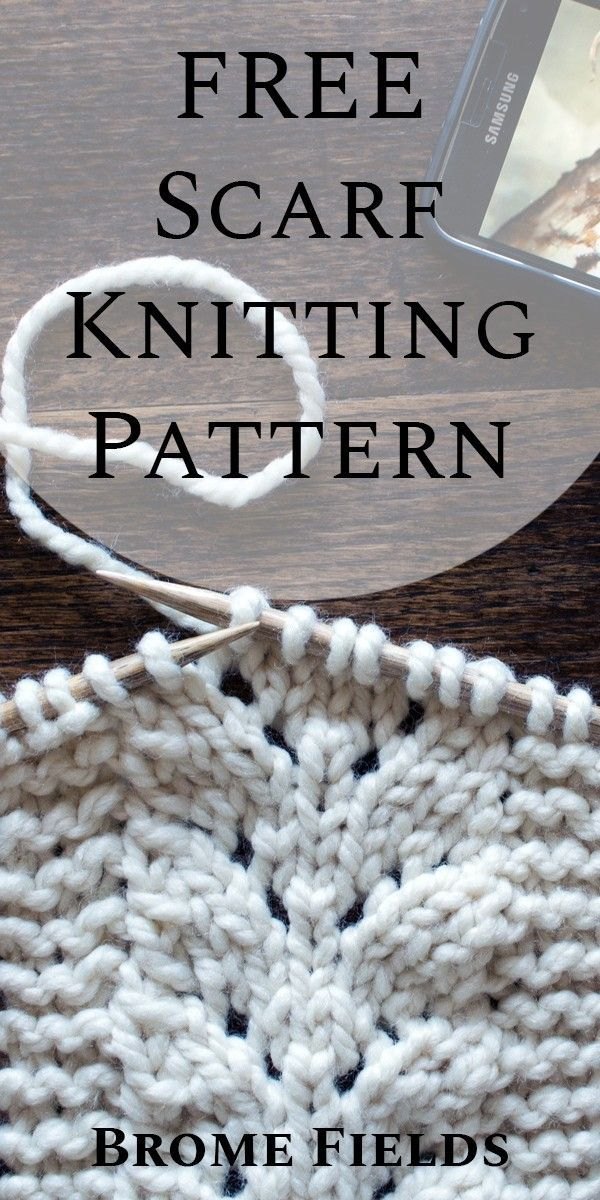 Photo of Grab this FREE CARING Scarf Knitting Pattern and learn one of my favorite stitch…