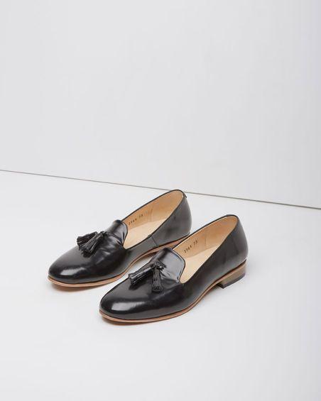 Rochas / Heeled Tassel Loafer