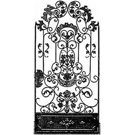 Arte de Mexico Architectural Elementswrought iron gates