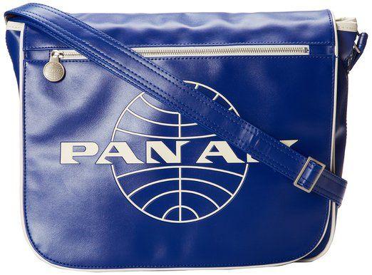 Pan Am Men's Messenger Reloaded, Blue, Large