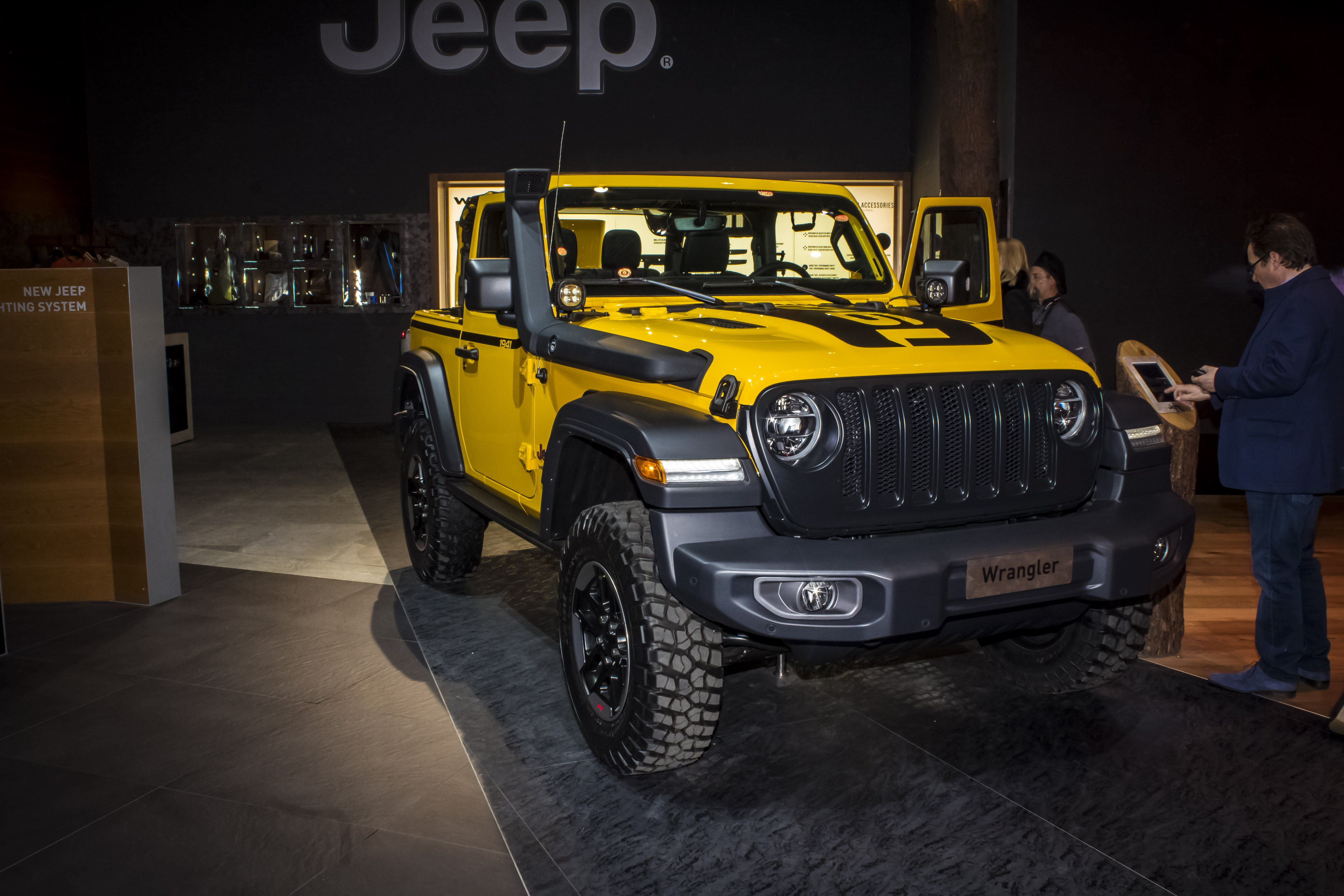 2019 Jeep Wrangler 1941 Edition By Mopar Top Speed Jeep Jeep