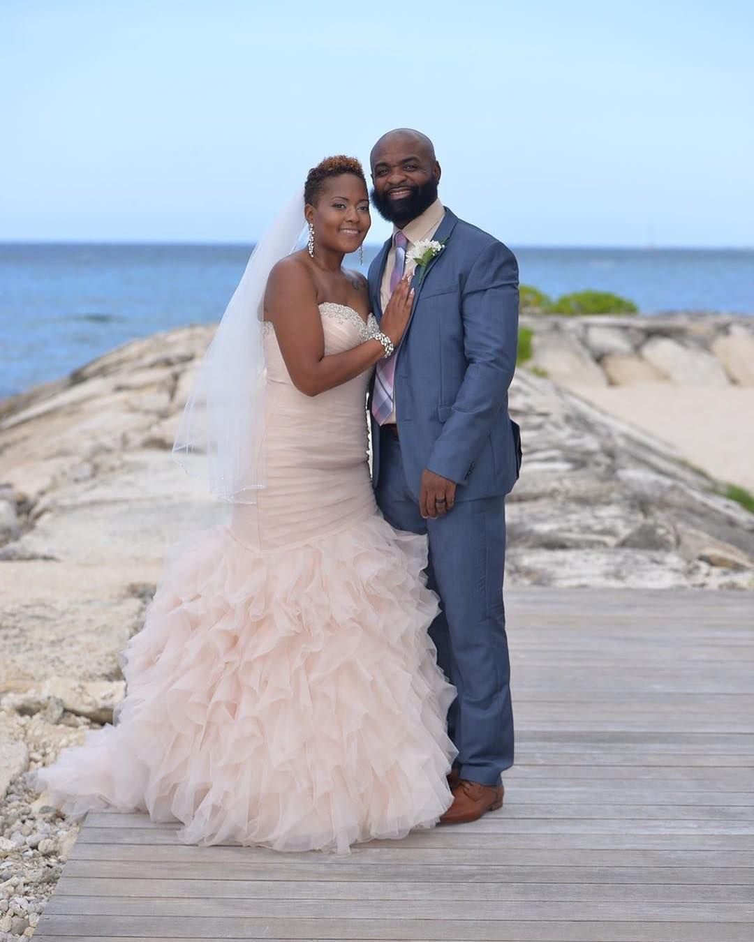 Wedding Hairstyles In Jamaica: @jus1quima Just Tied The Knot 7.7.17 In Jamaica! We Love