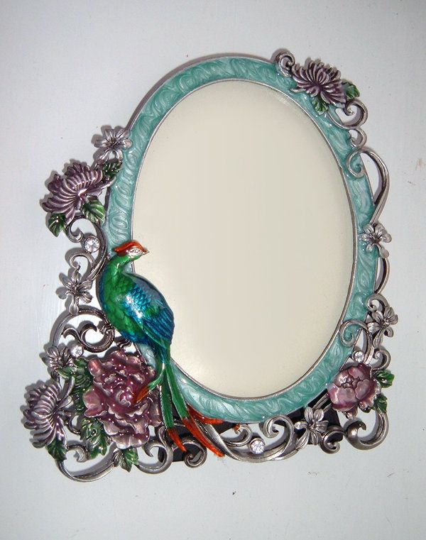 Peacock Frame / ~DemoncherryStock on deviantART  Love, love