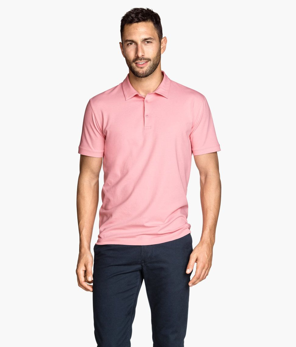 Take a cue from nantucket with this pink collared polo for Best quality polo shirts for men