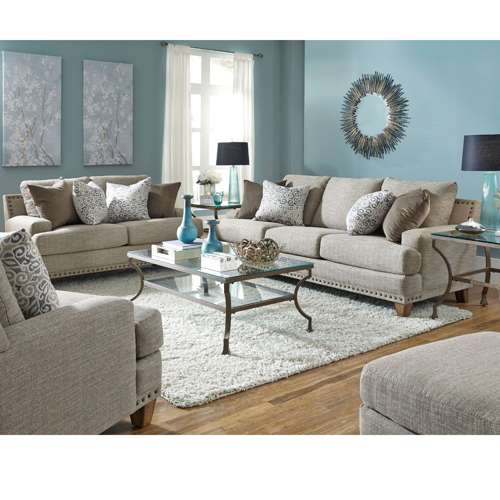 Hobbs Sofa from Franklin Corporation The Hobbs Collection offers a  sophisticated transitional look with