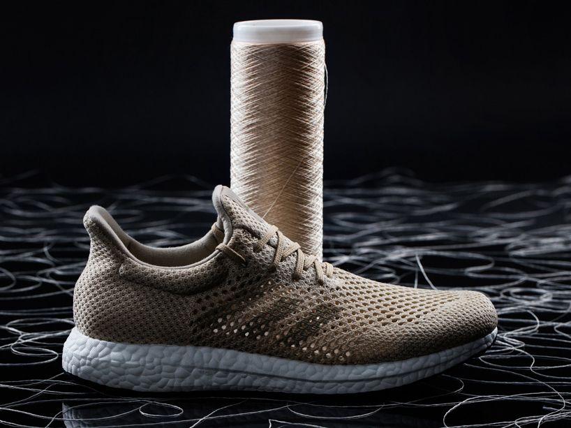 adidas futurecraft biodegradable biosteel biofabric sneakers designboom