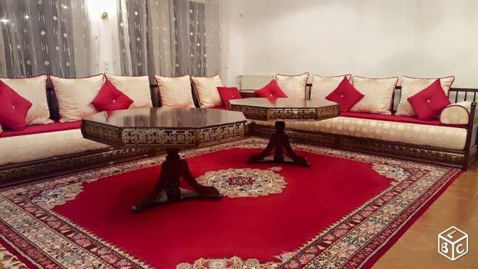 Salon marocain haut de gamme prix usine | salon marocain | Moroccan ...