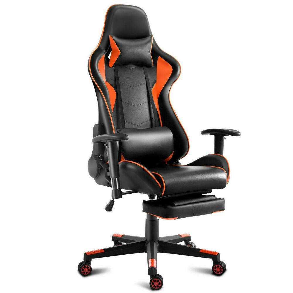 Costway gaming chair high back racing recliner office