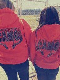 Matching sweatshirts