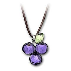 Swarovski Crystal 1003292 Fruity Grapes Mini Pendant #ghdcandy #violet