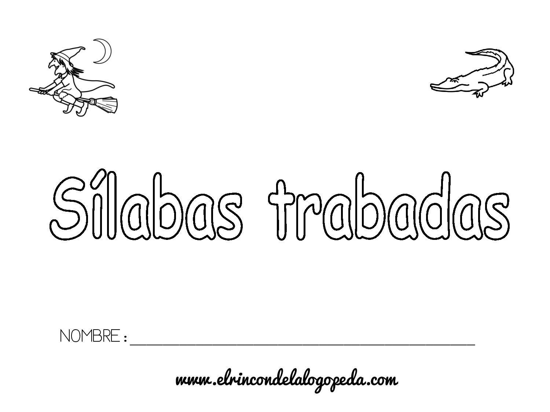 Dibujos Con La Trabada Br: Cuaderno Sílabas Trabadas-page-001