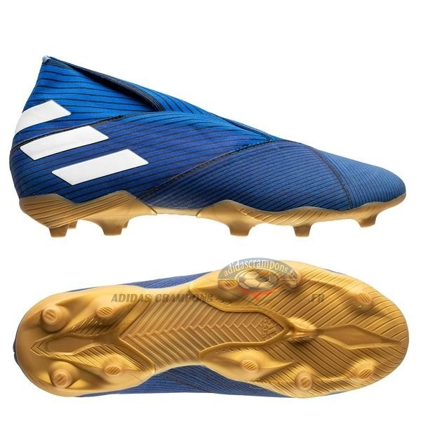 FG CO Chaussures de Football Homme Or adidas Predator 19