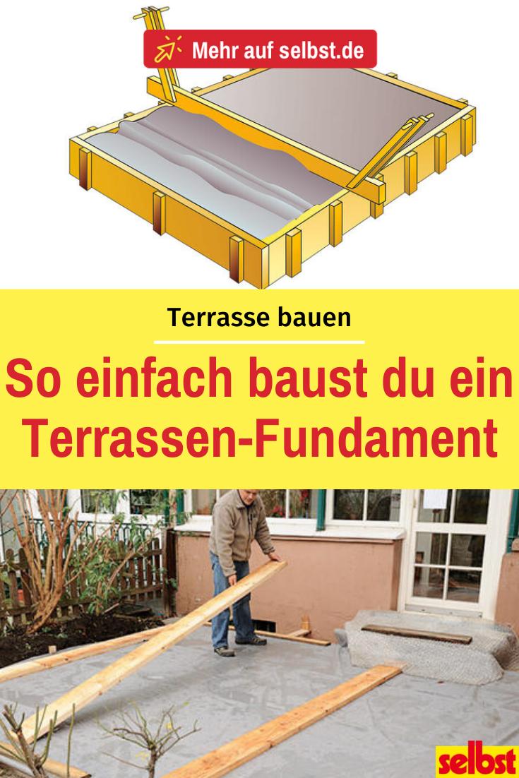 Terrasse betonieren   selbst.de   Terrasse bauen, Terrasse ...