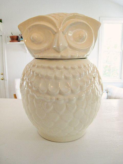 Vintage Cookie Jars For Sale Vintage Owl Cookie Jar Flickr Photo Sharing Owl Cookie Jar Cookie Jars Vintage Owl Decor