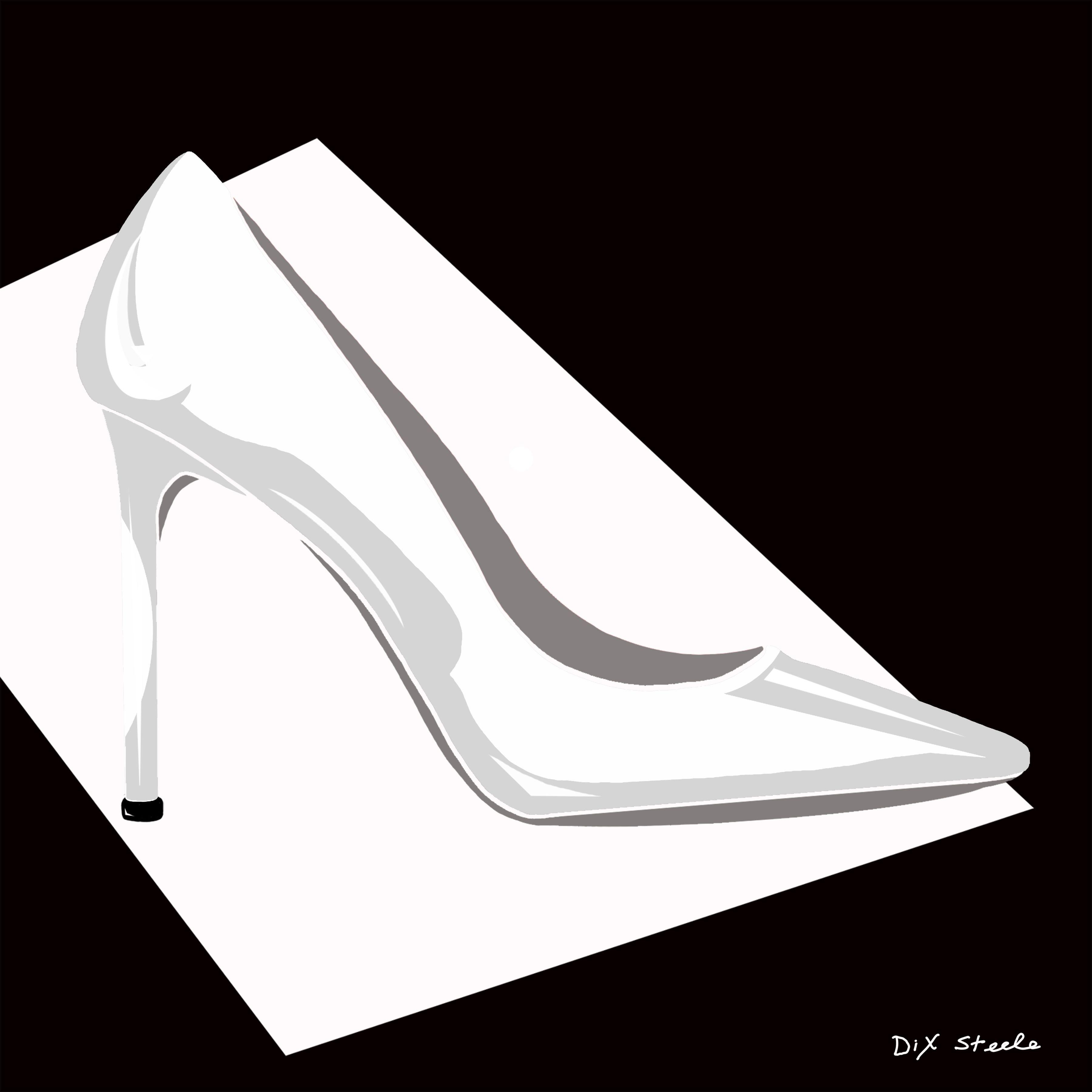 High heel shoe erotic art