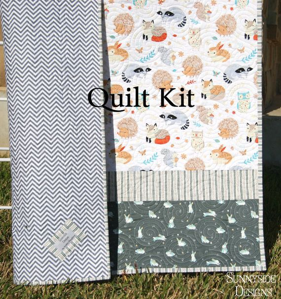 Critter patch quilt kit diy do it yourself by sunnysidefabrics critter patch quilt kit diy do it yourself by sunnysidefabrics 6600 solutioingenieria