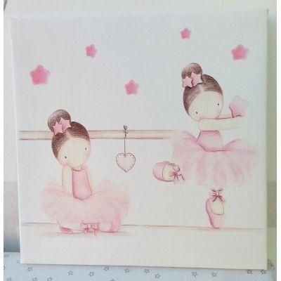Bailarinas ii angeles hadas duendes pinterest - Cuadros habitaciones infantiles ...