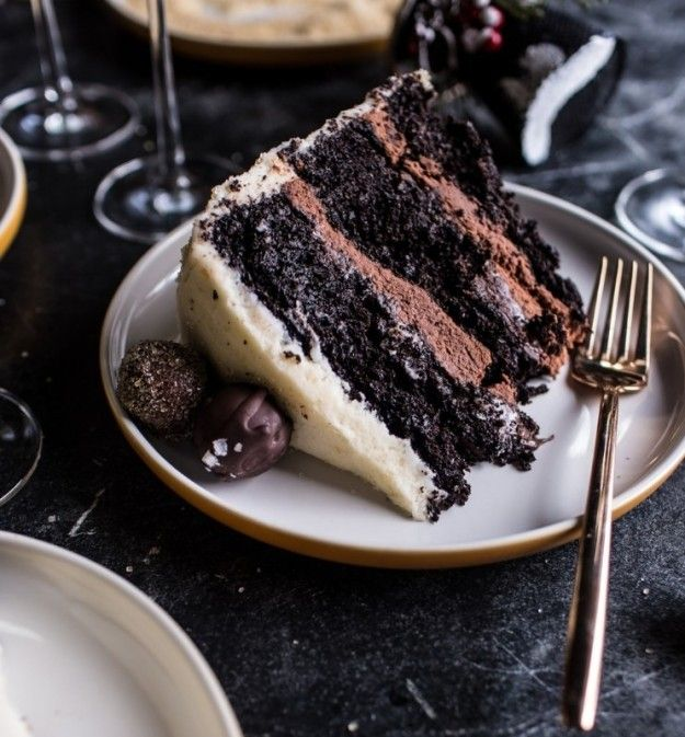 Photo of Chocolate Truffle Champagne Cake