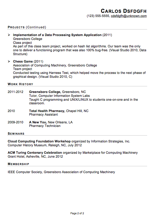 Internship Resume New Functional Resume Sample It Internship  Httpwwwjobresume