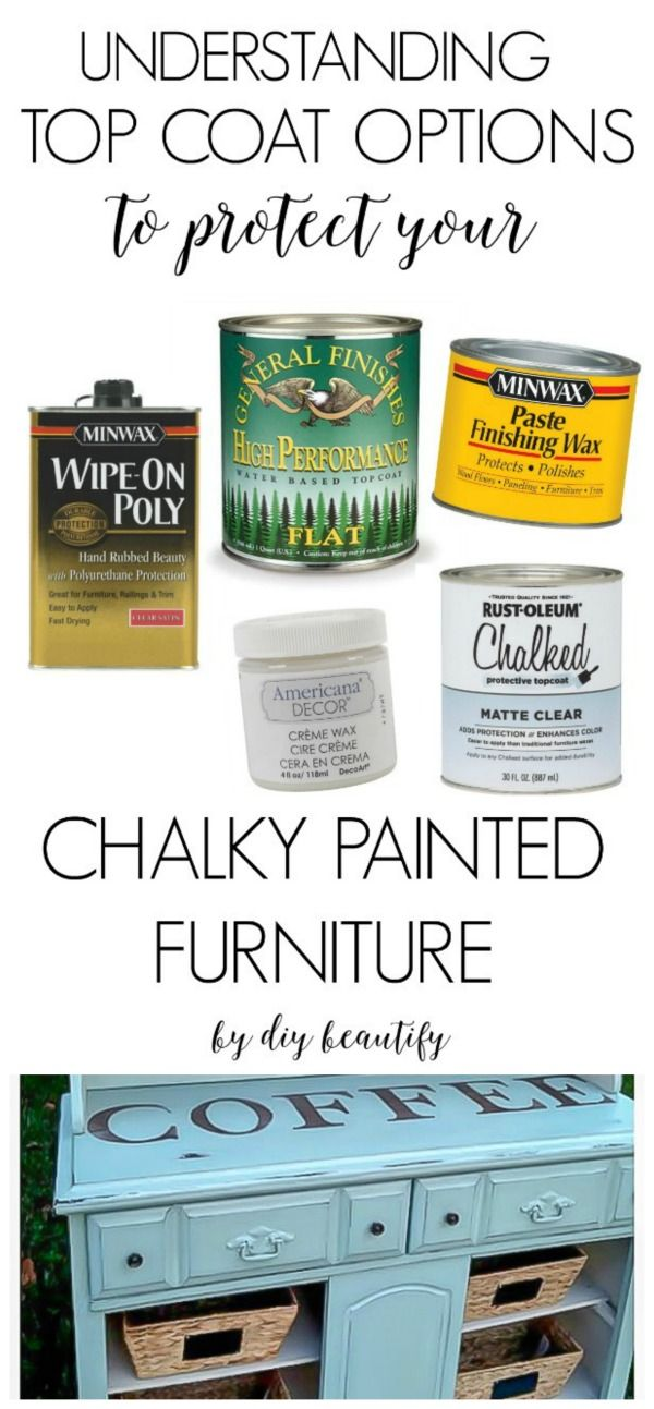 Top Coat Protection Options For Chalky Painted Furniture Painted Furniture Paint Furniture Redo Furniture