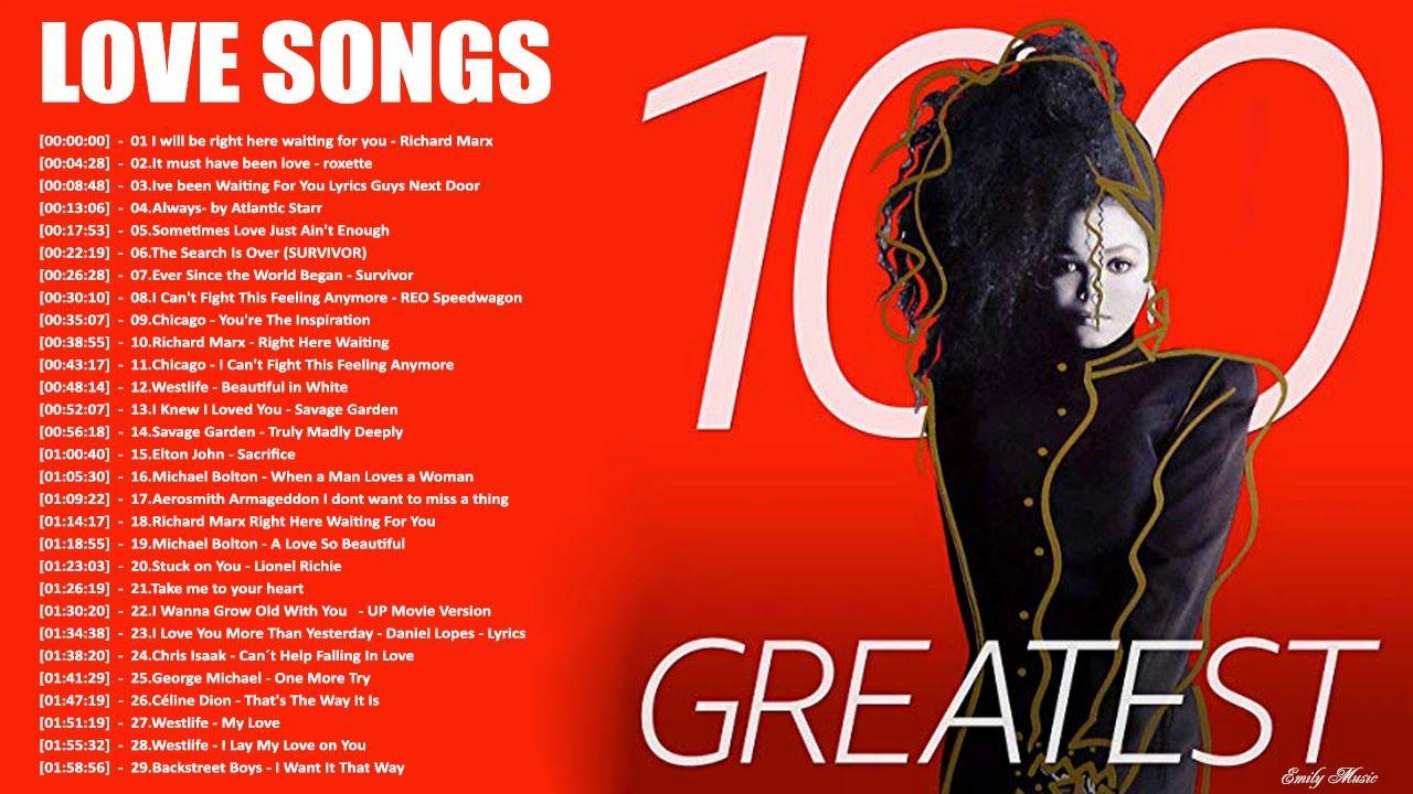 Top 100 Romantic Love Songs 70 S 80 S Playlist Greatest Love